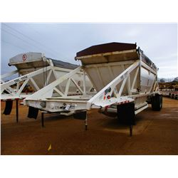 2011 RANCO BELLY DUMP TRAILER, VIN/SN:1D9SD4025BR661170 - T/A, 40' LENGTH, 21 YD CAP, 11R24.5 TIRES,