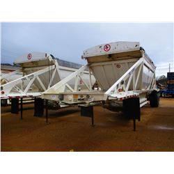 2012 010 RANCO BELLY DUMP TRAILER, VIN/SN:1D9SD4025AR661118 - T/A, 40' LENGTH, 21 YD CAP, 11R24.5 TI