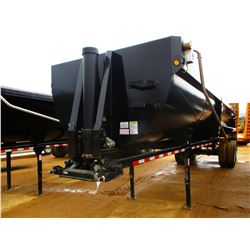 2017 BRAZOS PIT VIPER DUMP TRAILER, VIN/SN:4B9BKDG29HH054451 - T/A, 32' LENGTH, HYBRID CENTER POINT