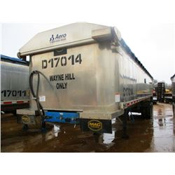 "2017 MAC DUMP TRAILER, VIN/SN:5MADA3420HC039508 - T/A, 34' LENGTH, 38"" HIGH SIDE, SMOOTH SLIDE ALUM"