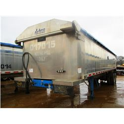 "2017 MAC DUMP TRAILER, VIN/SN:5MADA3422HC039509 - T/A, 34' LENGTH, 38"" HIGH SIDE, SMOOTH SLIDE ALUM"