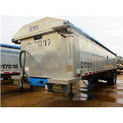 "2017 MAC DUMP TRAILER, VIN/SN:5MADA3420HC039511 - T/A, 34' LENGTH, 38"" HIGH SIDE, SMOOTH SLIDE ALUM"
