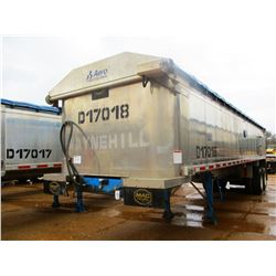 "2017 MAC DUMP TRAILER, VIN/SN:5MADA3422HC039512 - T/A, 34' LENGTH, 38"" HIGH SIDE, SMOOTH SLIDE ALUM"