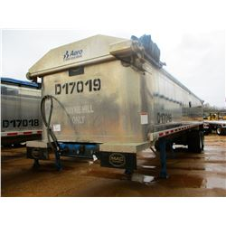 "2017 MAC DUMP TRAILER, VIN/SN:5MADA3424HC039513 - T/A, 34' LENGTH, 38"" HIGH SIDE, SMOOTH SLIDE ALUM"