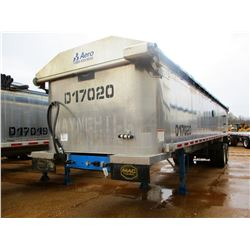 "2017 MAC DUMP TRAILER, VIN/SN:5MADA3426HC039514 - T/A, 34' LENGTH, 38"" HIGH SIDE, SMOOTH SLIDE ALUM"