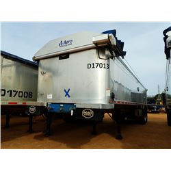 "2017 MAC DUMP TRAILER, VIN/SN:5MADA3429HC039507 - T/A, 34' LENGTH, 38"" HIGH SIDE, SMOOTH SLIDE ALUM"