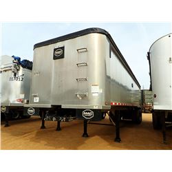 2012 MAC DUMP TRAILER, VIN/SN:5MADN3526CC024152 T/A, FRAMLESS, ALUM, 34' LENGTH, AIR RIDE SUSP, 34'