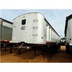 2006 EAST DUMP TRAILER, VIN/SN:1E1F9P3826RG37265 - TRI-AXLE, FRAMELESS, 33' LENGTH, ALUM, AUR RIDE S