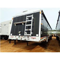 2012 WILSON DWH-551CCB HOPPER TRAILER, VIN/SN:4WWTCF3A8C4617573 - T/A, 45' LENGTH, 11R24.5 TIRES