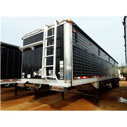 2008 TIMPTE SUPER HOPPER TRAILER, VIN/SN:1TDH422238B117041 - T/A, 40' LENGTH, 11R22.5 TIRES