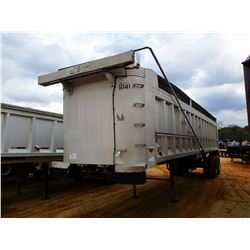 TI-BROOK DUMP TRAILER, VIN/SN:1T9EAAN26LG021038 - T/A, 35' LENGTH, AIR RIDE SUSP, 11R24.5 TIRES