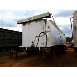 2005 VANTAGE DUMP TRAILER, VIN/SN:4E78A35335ASA0725 - TRI-AXLE, 36' LENGTH, AIR RIDE SUSP, 11R22.5 T