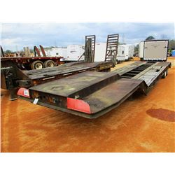 FLATBED TRAILER, - T/A, 37' LENGTH, 215/75R17.5 TIRES