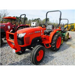 2011 KUBOTA L3200F FARM TRACTOR, VIN/SN:20320 - ROLL BAR, METER READING 146 HOURS
