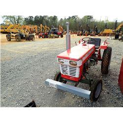 YANMAR YM1700 FARM TRACTOR, VIN/SN:23387 - 3 PTH, PTO, DIESEL ENGINE, METER READING 192 HOURS