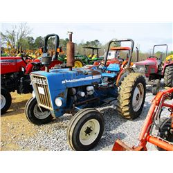 FORD 3000 FARM TRACTOR, VIN/SN:C527624 - ROLL BAR, 13.6-28 TIRES