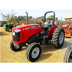 2016 MASSEY FERGUSON 2604H FARM TRACTOR, VIN/SN:MEADA22DYG1105953 - (1) REMOTE, ROLL BAR, METER READ