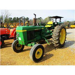 JOHN DEERE 2130 FARM TRACTOR, VIN/SN:278928 - 1 REMOTE, 15.5-38 TIRES