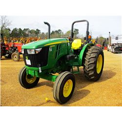JOHN DEERE 5055E FARM TRACTOR, VIN/SN:112270 - (1) REMOTE, ROLL BAR, METER READING 863 HOURS