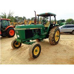 JOHN DEERE 4030 FARM TRACTOR, VIN/SN:011160 - 2 REMOTES, CANOPY, 16.9-34 TIRES