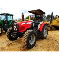 MASSEY FERGUSON 5460 FARM TRACTOR, VIN/SN:N301009 - MFWD, 3 REMOTES, CANOPY, 18.4-34 TIRES