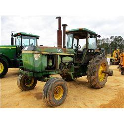 JOHN DEERE 4840 FARM TRACTOR, VIN/SN:011917 - 3 PTH, PTO, (3) HYD REMOTES, CAB