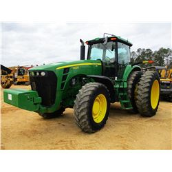 2009 JOHN DEERE 8330 FARM TRACTOR, VIN/SN:041841 - MFWD, 4 REMOTES, FRONT C/W, CAB, A/C, 480/80R46 D