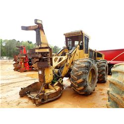 TIGERCAT 726D FELLER BUNCHER, - KOHERING WATERIOUS SAW HEAD, CAB, A/C, 30.5L-32 TIRES, METER READING