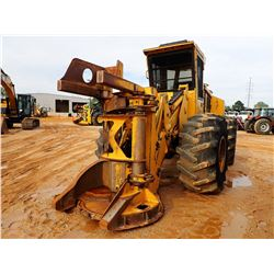 2005 TIGERCAT 718 FELLER BUNCHER, VIN/SN:7180608 - TIGERCAT 5500 SAW HEAD, CAB, A/C, 28L-26 TIRES