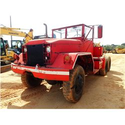 KAISER JEEP 6X6 MILITARY TRUCK TRACTOR, VIN/SN:5224-12055 - T/A, DIESEL ENGINE, 5 SPEED TRANS, ODOME
