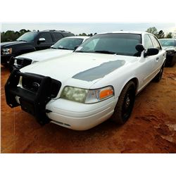 2007 FORD CROWN VICTORIA VIN/SN:2FAFP71W67X140024 - GAS ENGINE, A/T (COUNTY OWNED)