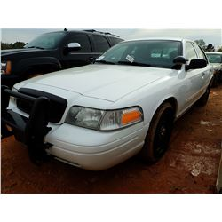 2010 FORD CROWN VICTORIA VIN/SN:2FABP7BV5AX119449 - GAS ENGINE, A/T, ODOMETER READING 247,600 MILES