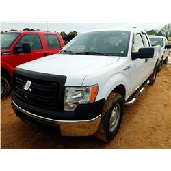 2014 FORD F150 PICKUP, VIN/SN:1FTFX1EFXEKF56045 - 4X4, EXTENDED CAB, GAS ENGINE, A/T, ODOMETER READI