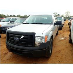 2011 FORD F150 PICKUP, VIN/SN:1FTFX1EF5BFB73425 - 4X4, EXT CAB, GAS ENGINE, A/T, ODOMETER READING 21