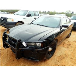 2013 DODGE CHARGER VIN/SN:2C3CDXAT4DH580345 - GAS, A/T, ODOMETER READING 183,757 MILES (COUNTY OWNED