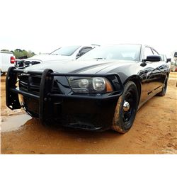 2012 DODGE CHARGER VIN/SN:2C3CDXAT5CH156056 - GAS ENGINE, A/T, ODOMETER READING 179,942 MILES (COUNT
