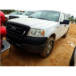 2005 FORD F150 PICKUP, VIN/SN:1FTPX14545NB30945 - 4X4, EXTENDED CAB, GAS ENGINE, A/T, ODOMETER READI