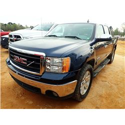2008 GMC SIERRA PICKUP, VIN/SN:26TEC13J981219305 - TEXAS EDITION, GAS ENGINE, A/T, ODOMETER READING