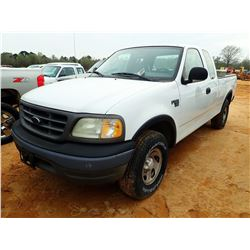 2003 FORD F150 PICKUP, VIN/SN:1FTRX18W93NB12286 - 4X4, EXT CAB, V8 ENGINE, A/T, TOOL BOX (COUNTY OWN