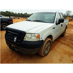 2006 FORD F150 PICKUP, VIN/SN:1FTRF12V26NA99081 - EXT CAB, GAS ENGINE, A/T, ODOMETER READING 344,637