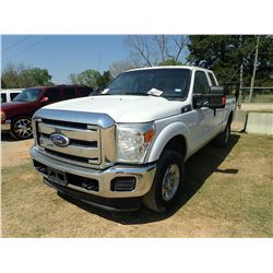 2012 FORD F250 PICK UP, VIN/SN:1FT7X2B62CEA59954 - 4X4, EXTENDED CAB, V8GAS ENGINE, A/T, ODOMETER RE