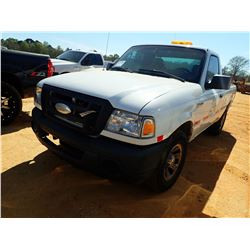 2008 FORD RANGER PICK UP, VIN/SN:1FTYR10098PA68608 - GAS ENGINE, A/T, ODOMETER READING 208,645 MILES