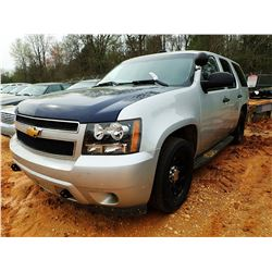 2013 CHEVROLET TAHOE VIN/SN:1GNLC2E0XDR256163 - V-8 ENGINE, A/T, ODOMETER READING 209,540 MILES (STA