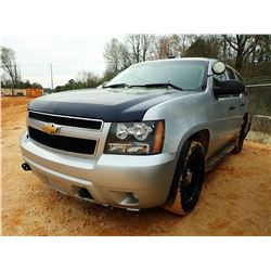 2012 CHEVROLET TAHOE VIN/SN:1GNLC2E04CR307896 - V8 GAS ENGINE, A/T, ODOMETER READING 248,599 (STATE