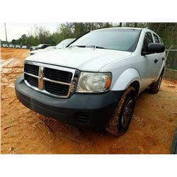 2007 DODGE DURANGO VIN/SN:1D8HB38P47F554084 - AUTO, ODOMETER READING 170,937 MILES (STATE OWNED)