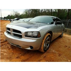 2010 DODGE CHARGER VIN/SN:2B3CA4CTXAH255051 - V-8 ENGINE, AUTO, ODOMETER READING 177,697 MILES (STAT