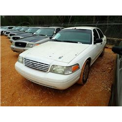 2006 FORD CROWN VICTORIA VIN/SN:2FAFP74V66X112290 - V-8 ENGINE, AUTO (STATE OWNED)