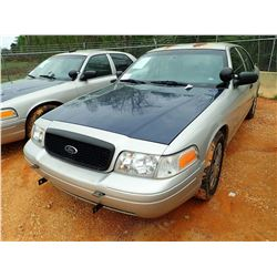 2007 FORD POLICE INTERCEPTOR, VIN/SN:2FAHP71W27X145021 - V-8 ENGINE, A/T (STATE OWNED)