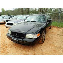 2008 FORD POLICE INTERCEPTOR, VIN/SN:2FAFP71VX8X167879 - V8 ENGINE, A/T (STATE OWNED)