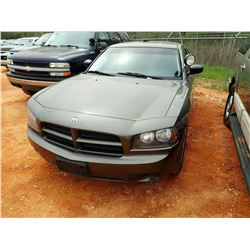 2008 DODGE CHARGER VIN/SN:2B36A43H38H216422 - V8 ENGINE, A/T, ODOMETER READING 181,762 MILES (STATE